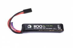 nuprol 7.4v 1100 lipo stick battery
